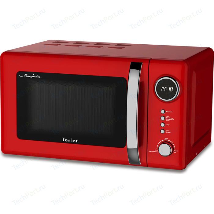 Микроволновая печь Tesler ME-2055 RED микроволновая печь tesler me 2055 sky blue