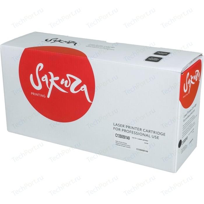 Картридж Sakura C13S050149 черный, 10000 стр.