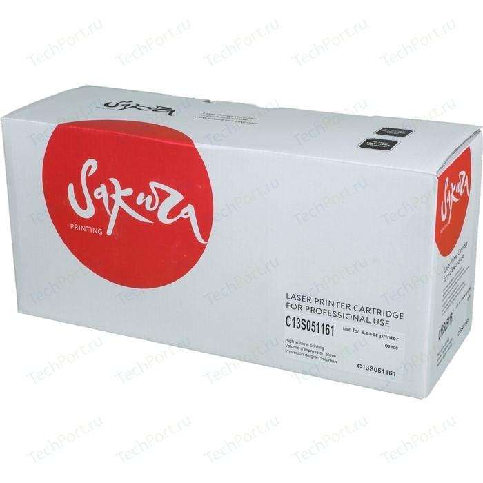 Картридж Sakura C13S051161 черный, 8000 стр.