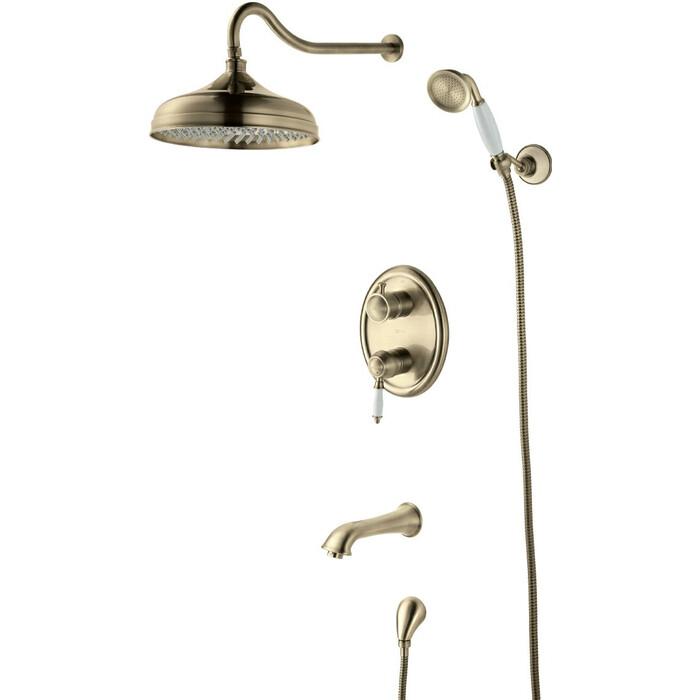 Душевая система Lemark Villa для ванны и душа, встраиваемый (LM4822B)