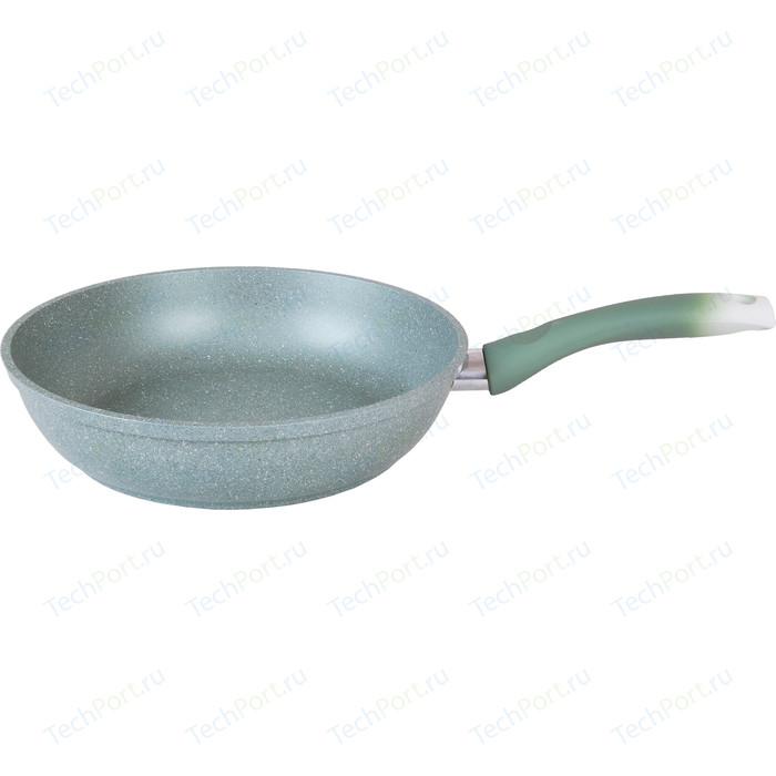 Сковорода Kukmara d 24см Фисташковый мрамор (смф241а)