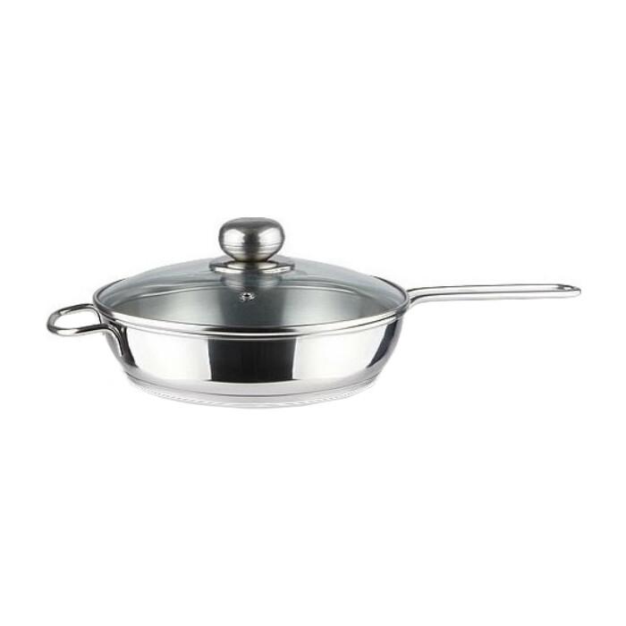 Сковорода с крышкой Амет 1.5 л (1с757 2 ручки)