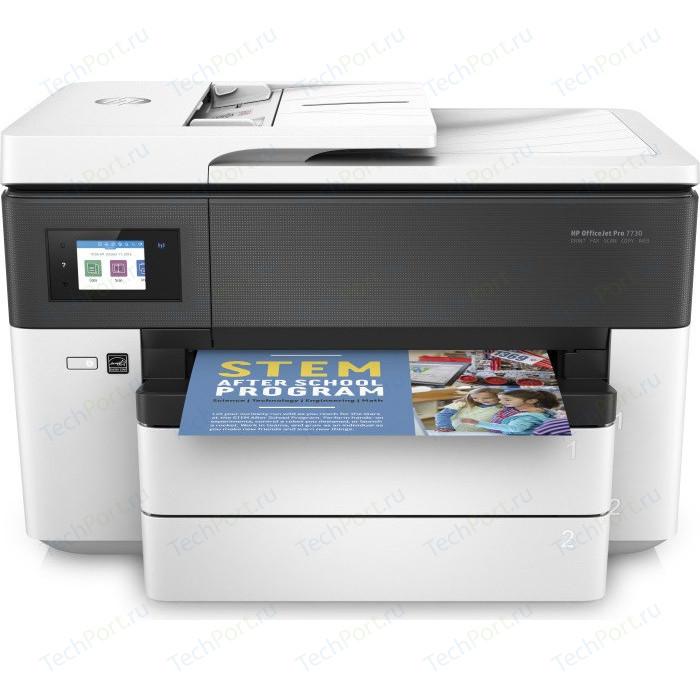 Фото - МФУ HP OfficeJet Pro 7730 мфу hp officejet 7612