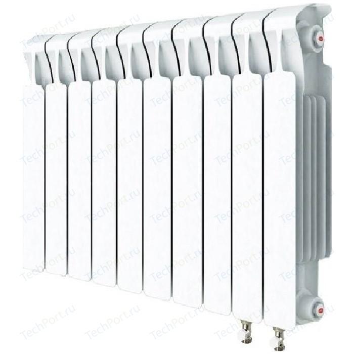 Радиатор отопления RIFAR MONOLIT VENTIL 500 10 секций биметаллический нижнее правое подключение (RM50010 НП50)
