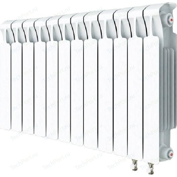 Радиатор отопления RIFAR MONOLIT VENTIL 500 12 секций биметаллический нижнее правое подключение (RM50012 НП50) радиатор отопления rifar monolit ventil 500 6 секций биметаллический нижнее правое подключение rm50006 нп50