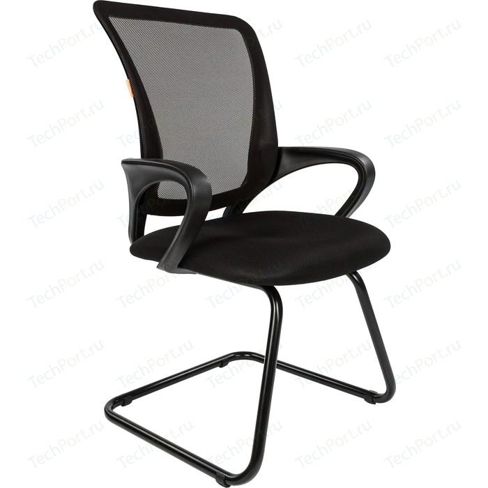 Офисное кресло Chairman 969 V TW-01 черный офисное кресло chairman 451 tw 11 черный