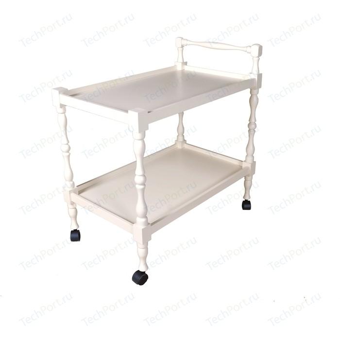 Стол сервировочный Мебелик Бридж слоновая кость