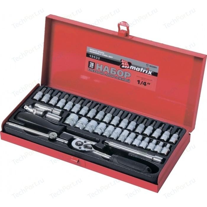 Набор инструментов слесарно-монтажный Matrix 38 предметов Master (13522)