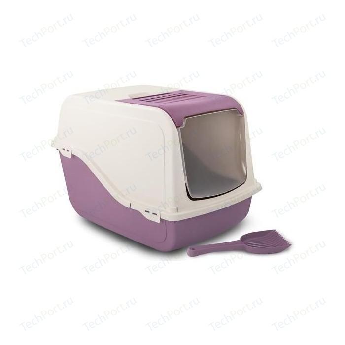 Туалет MP-Bergamo Ariel Top Free закрытый с угольным фильтром и совком для кошек 57*39*38см (87498)