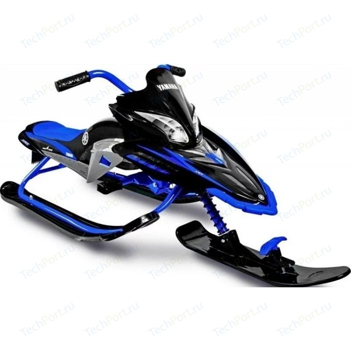 Снегокат Yamaha Apex SNOW BIKE Titanium black/blue YM13001