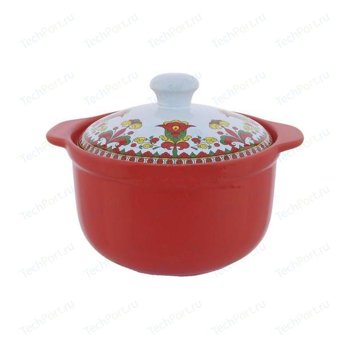 Кастрюля керамическая 1.6 л Appetite Narino Карусель (CS1909-CA)