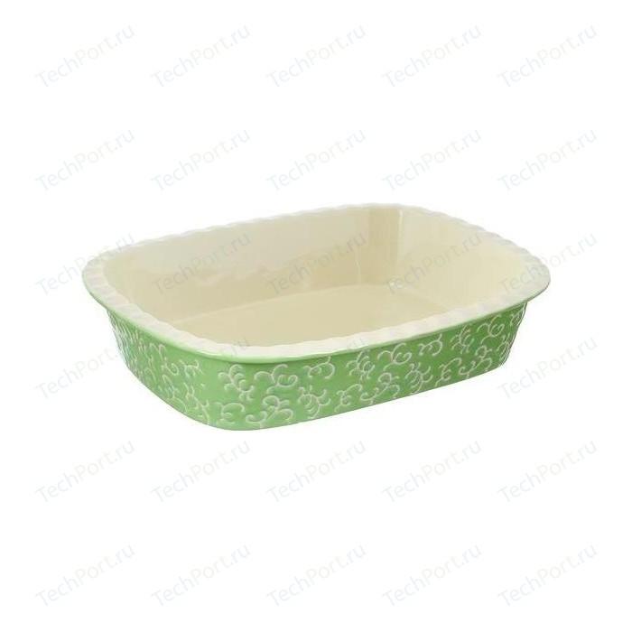 Фото - Форма для запекания 35.5х25.8х7.5см Appetite прямоугольная зеленый (YR2026A-13) форма для запекания прямоугольная magic 35х26см