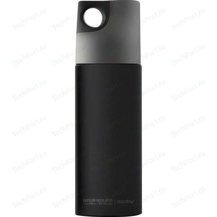 Термобутылка 0.48 л Asobu Le canal черная (SBV19 smoke)