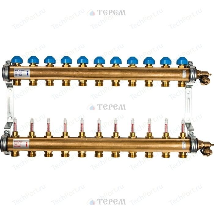 Коллекторная группа WATTS Ind HKV/T-11 1-3/4 с расходомером 11 выходов (10004205)