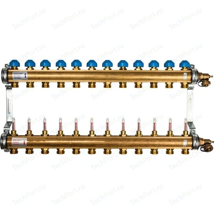 Коллекторная группа WATTS Ind HKV/T-12 1-3/4 с расходомером 12 выходов (10004206)