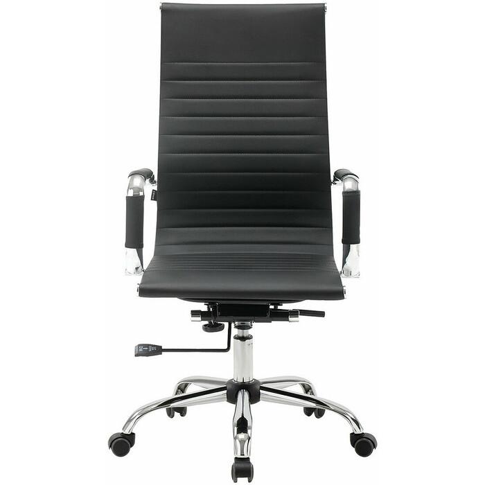 Фото - Кресло офисное Brabix Energy EX-509 рециклированная кожа хром черное 530862 кресло офисное brabix status hd 003 рециклированная кожа хром черное 531821