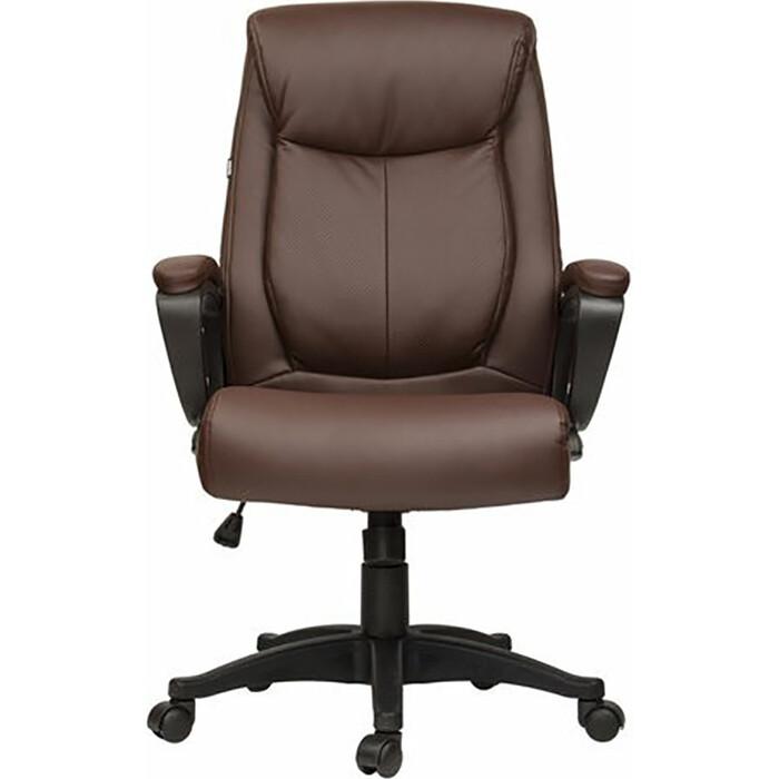 Кресло офисное Brabix Enter EX-511 экокожа коричневое 531163