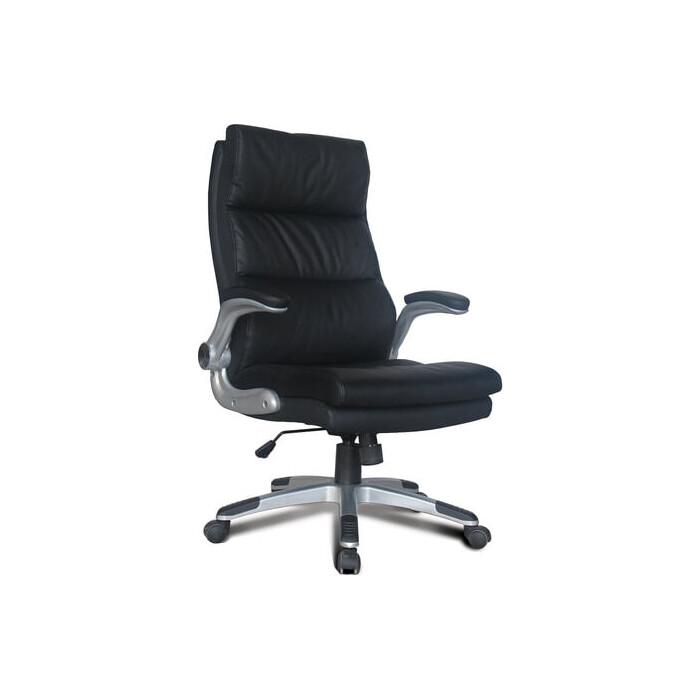 Кресло офисное Brabix Fregat EX-510 рециклированная кожа черное 530863