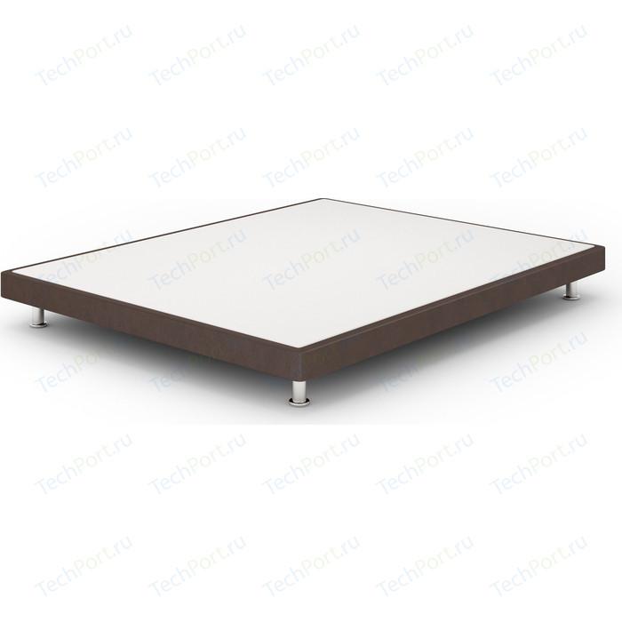 Кроватный бокс Lonax Box Mini Эко Кожа (Стандарт) 80x195 коричневый
