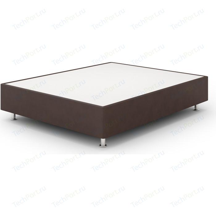Кроватный бокс Lonax Box Maxi Эко Кожа (Стандарт) 90x190 коричневый
