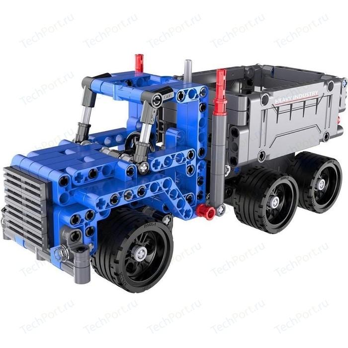 Конструктор Cada Technics грузовик с инерционным механизмом, 301 деталь