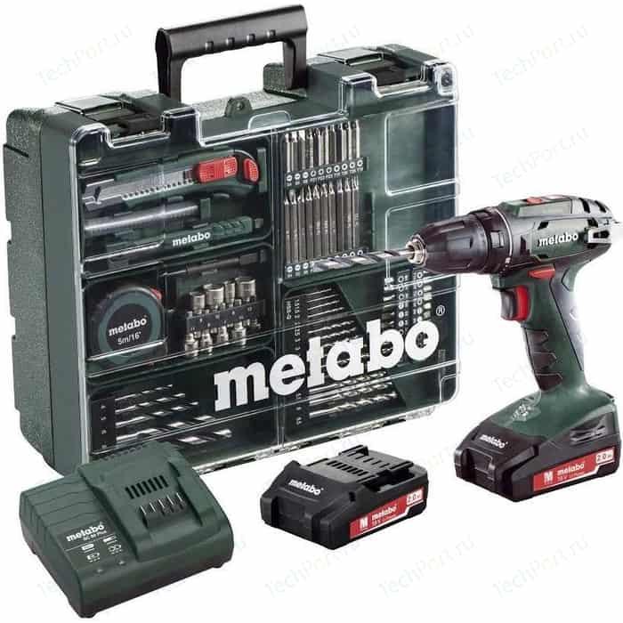Аккумуляторная дрель-шуруповерт Metabo BS 18 (602207880)