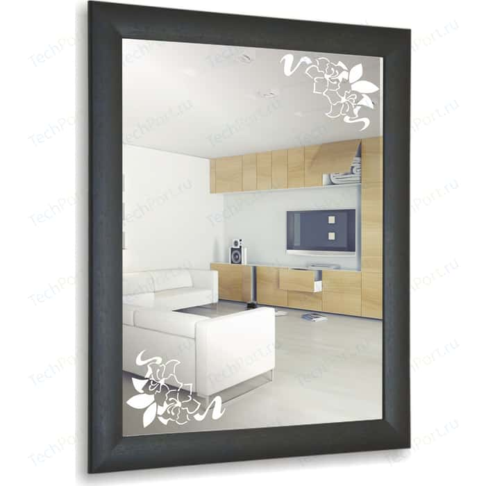 Зеркало Mixline Валенсия 60х74 венге (4620001982776)