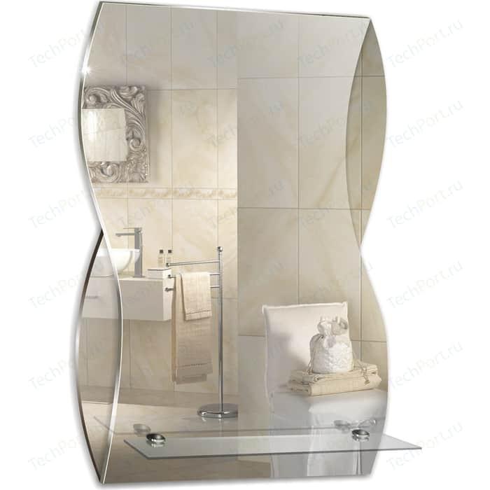 Зеркало Mixline Домино 39,5х60 с полкой (4620001980420)