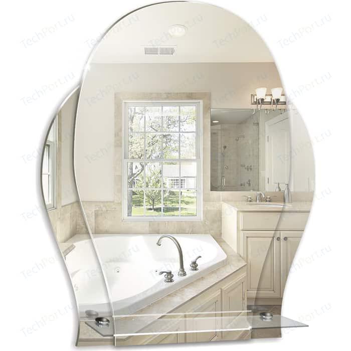 Зеркало Mixline Медео 47х57,5 с полкой (4620001980642)