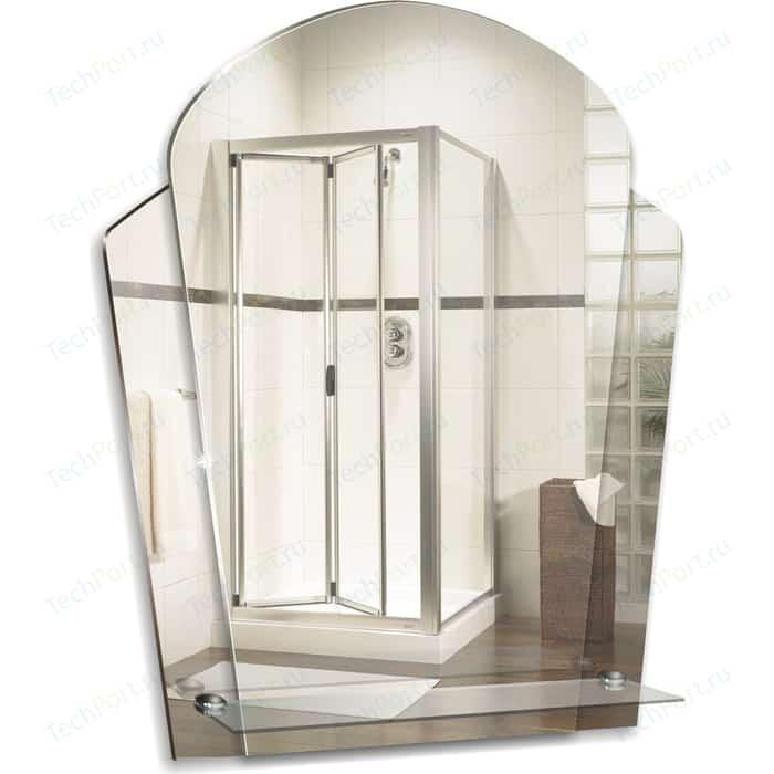 Зеркало Mixline Пион 48,5х57,5 с полкой (4620001980802)