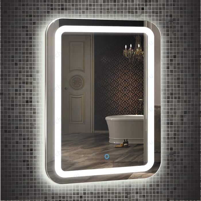 Зеркало Mixline Мальта 80х55 с подсветкой, сенсор (4620001985296)