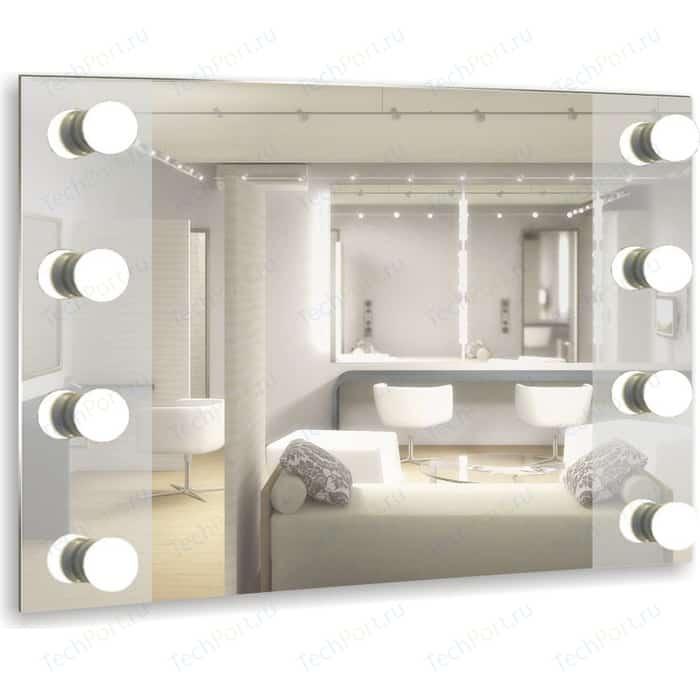 Зеркало Mixline Мерлин 80х60 8 цоколей, без ламп (4620001984862)