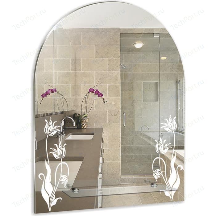Зеркало Mixline Букет 49,5х67 с полкой (4620001980222)