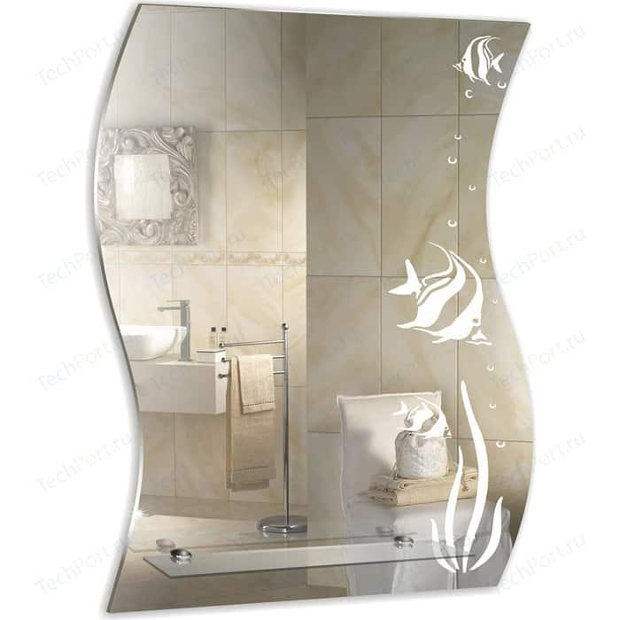 Зеркало Mixline Немо 51х68 с полкой (2000006770011)