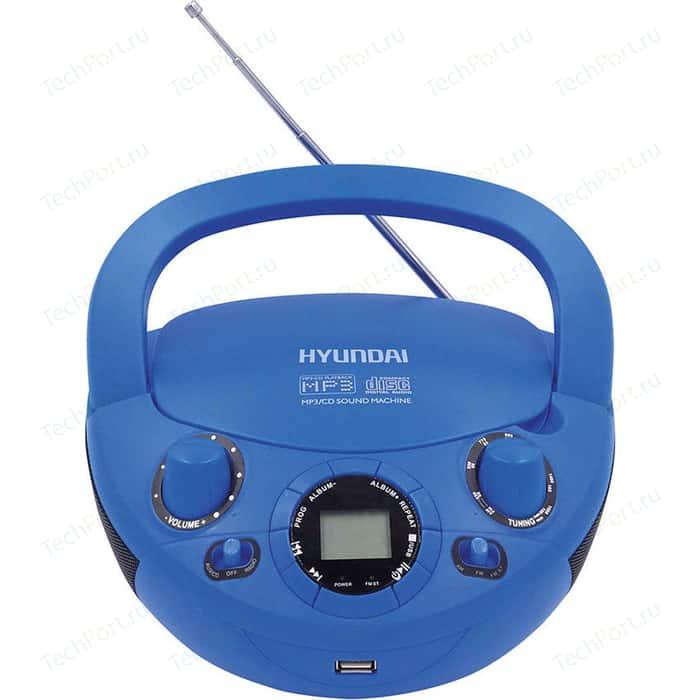 Магнитола Hyundai H-PCD220 синий