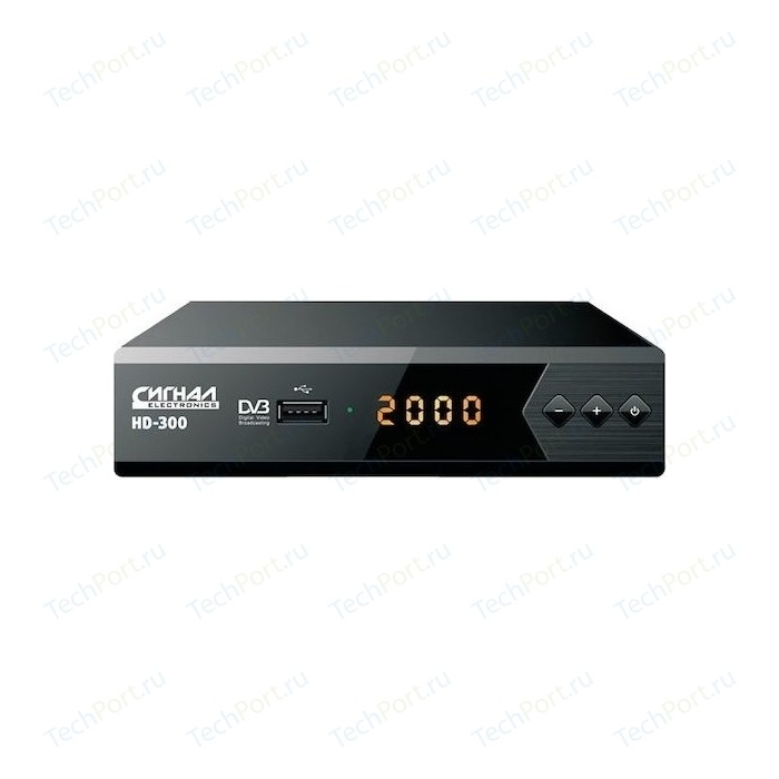Тюнер DVB-T2 Сигнал HD-300