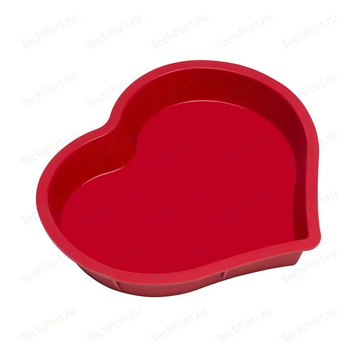 Форма для выпечки Oursson Silicone Сердце (BW2600S/RR)