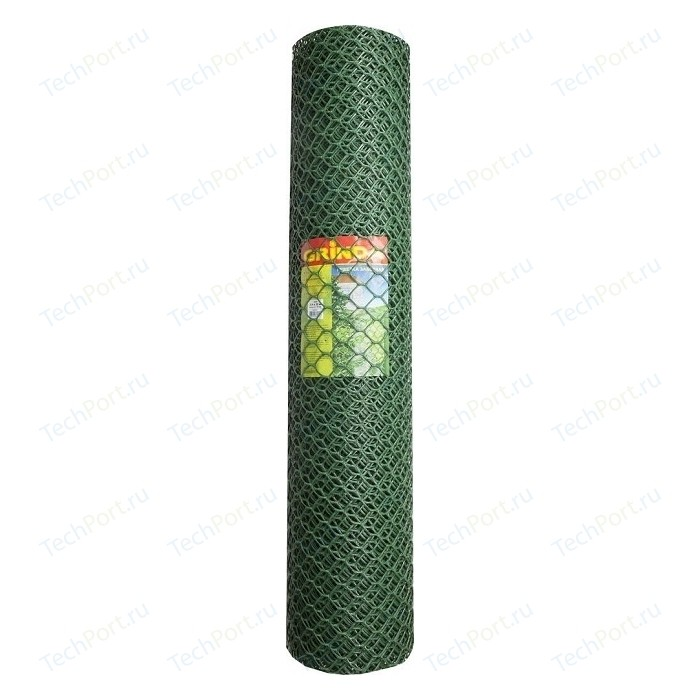 цена на Решетка заборная Grinda 1.9х25м, ячейка 55х58мм цвет хаки (422267)