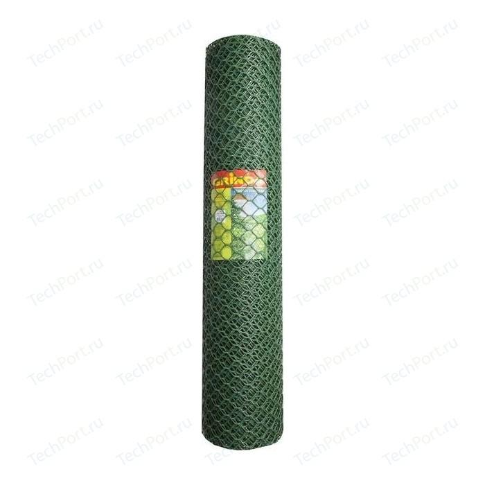 цена на Решетка садовая Grinda цвет хаки (1.63x15 м ячейка 18x18 мм)