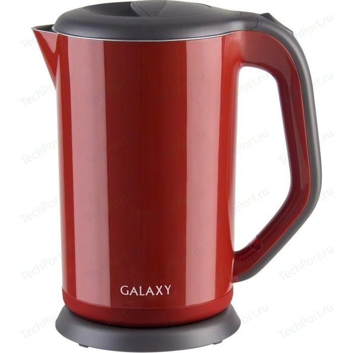 Чайник электрический GALAXY GL 0318 красный цена 2017