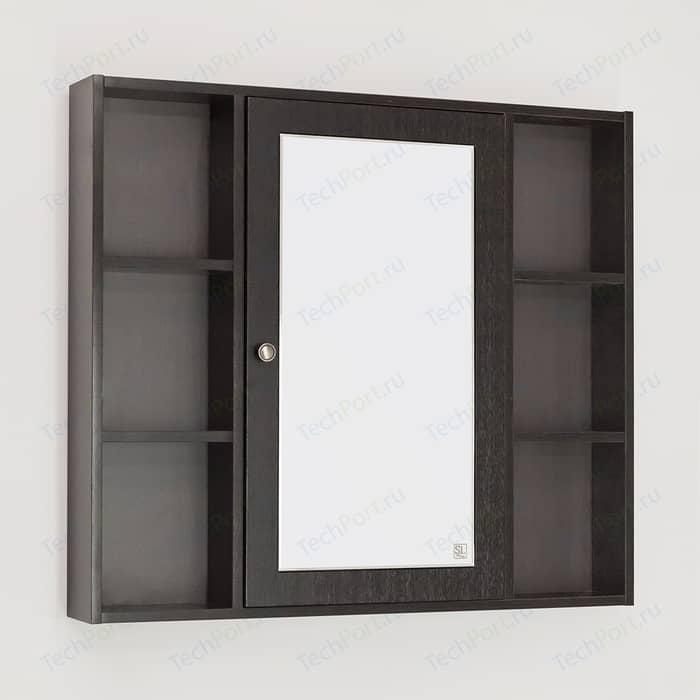 Зеркальный шкаф Style line Кантри 90 венге (4650134470086)