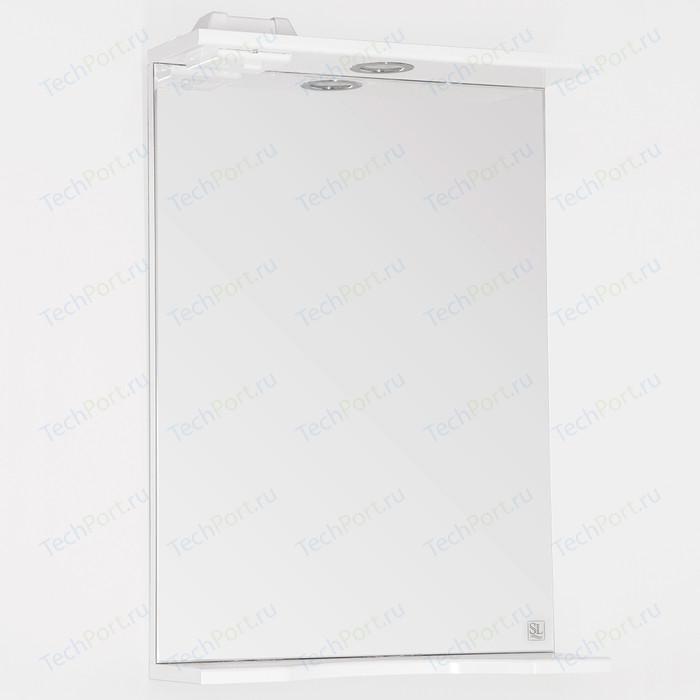Зеркало Style line Инга 50 с подсветкой, белое (4603720984801)