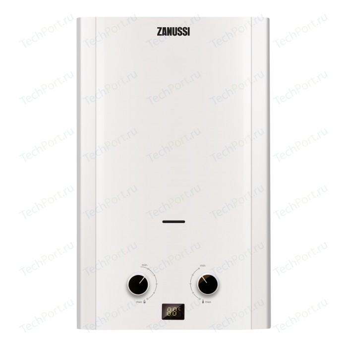 Фото - Газовая колонка Zanussi GWH 12 Fonte газовая колонка electrolux gwh 12 nanoplus 2 0 24000 вт