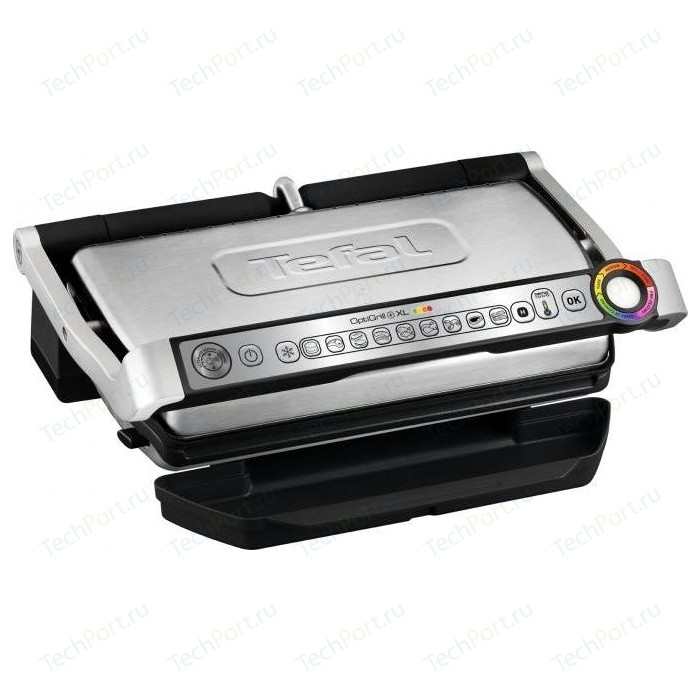 Электрогриль Tefal Optigrill+ XL GC722D34 электрогриль tefal optigrill gc712834 black
