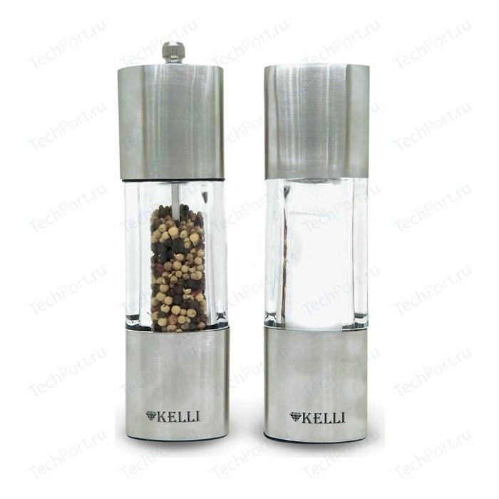 Набор мельница для перца и солонка Kelli (KL-11123)