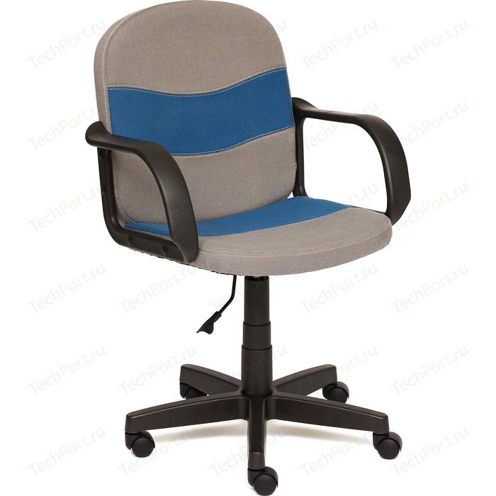 Кресло TetChair BAGGI ткань серый/синий С27/С24