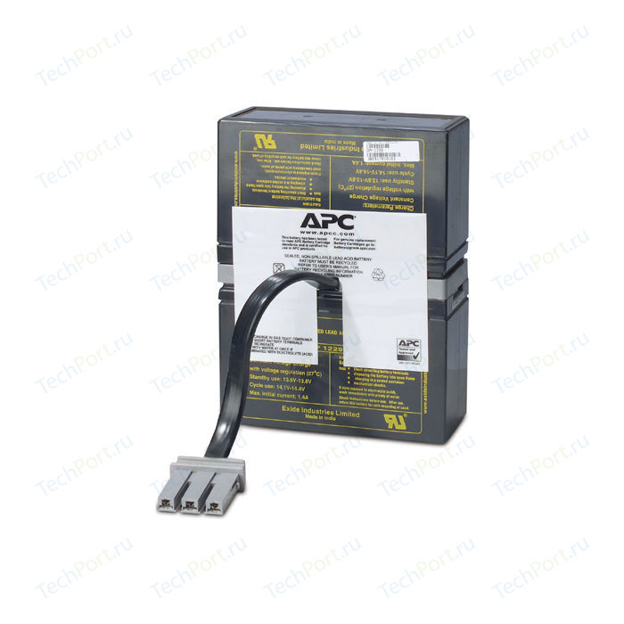 ИБП APC Battery replacement kit for BR1000I, BR800I (RBC32)
