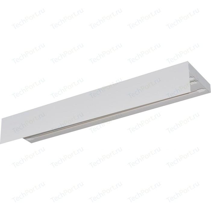 Карниз потолочный пластиковый DDA Прямой Винтаж трехрядный белый 4.0