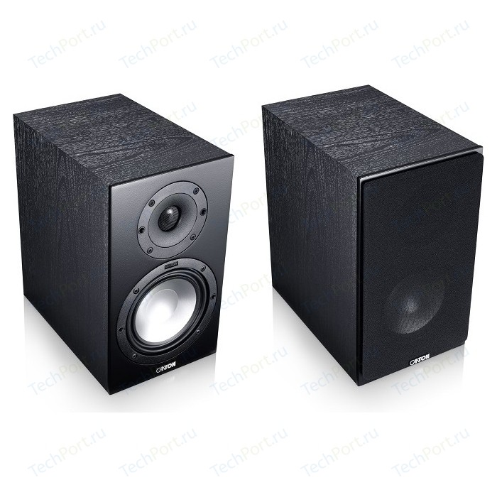 Полочная акустика Canton GLE 426.2 black активная полочная акустика dali oberon 1 c black ash