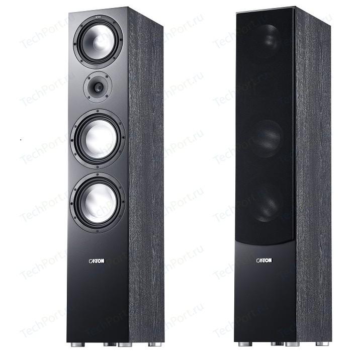 Напольная акустика Canton GLE 496.2 black кронштейн под акустику canton cantomount xl black